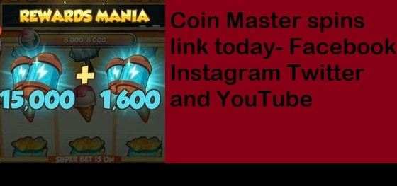 Coin Master spins link today